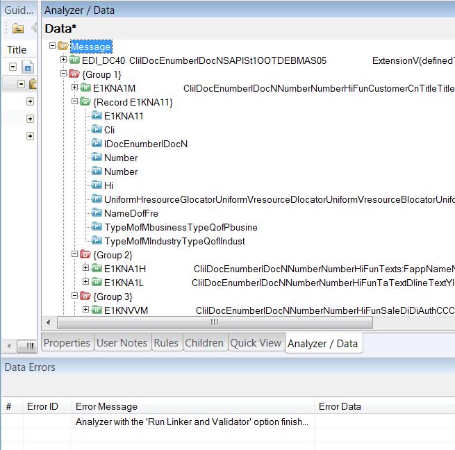 Oracle B2B Document Editor – Defining a custom message (Part